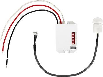 Mini Bewegungsmelder 360° Zum Einbau Sensor PIR Unterputz Für LED 800W PIR DE