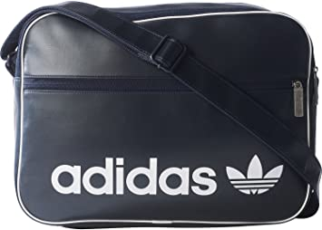 4198fabcc5 adidas Airliner Vint Sac à Main Mixte Adulte, Bleu/Tinley: Amazon.fr ...