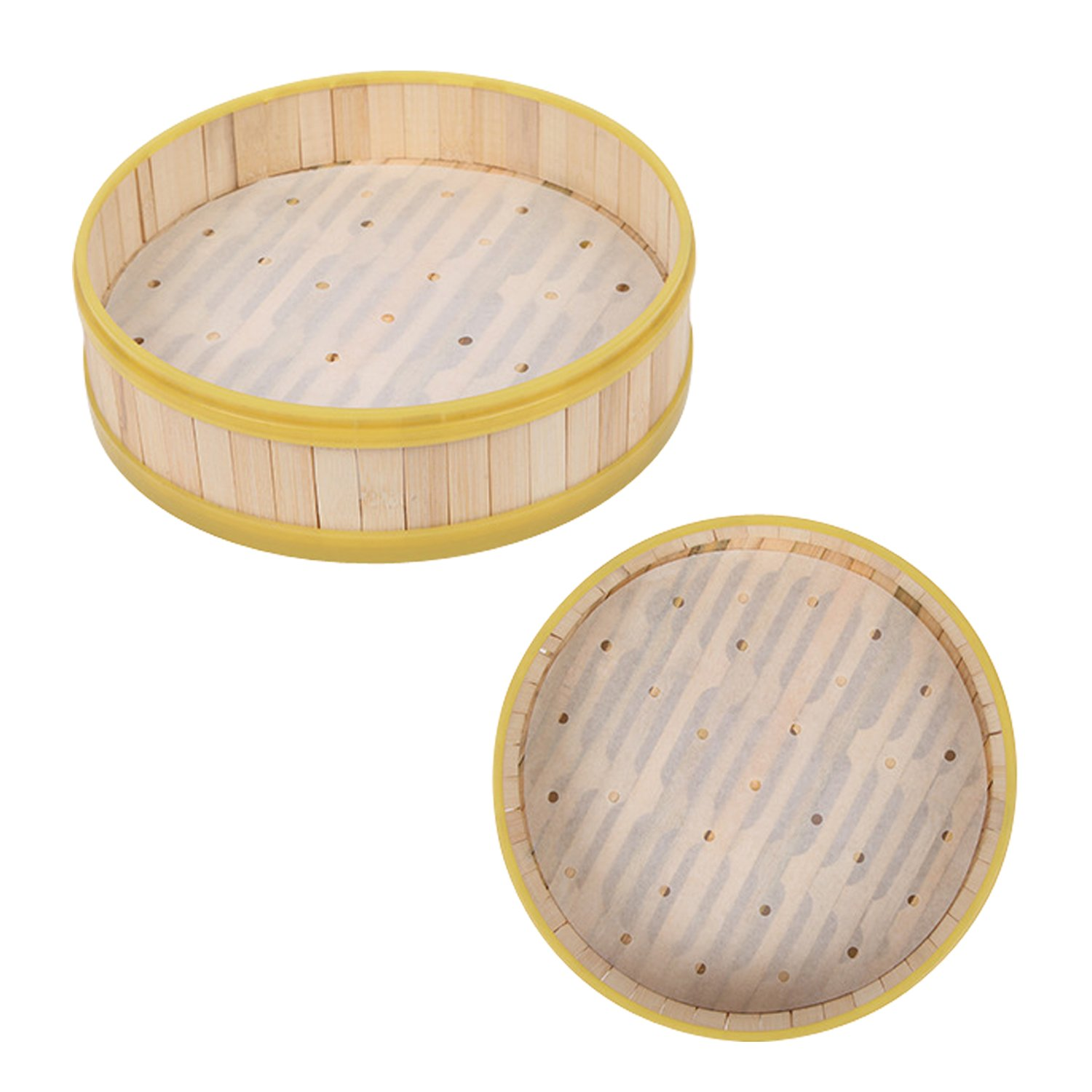 Newkeen 100pcs 9 Inch Diameter Baking Parchment Circles Non-Stick Parchment Paper Baking Paper Liners for Round Cake Pans