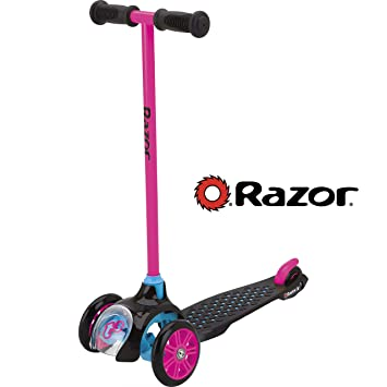 Razor Jr. T3 patinete, color rosa: Amazon.es: Deportes y ...