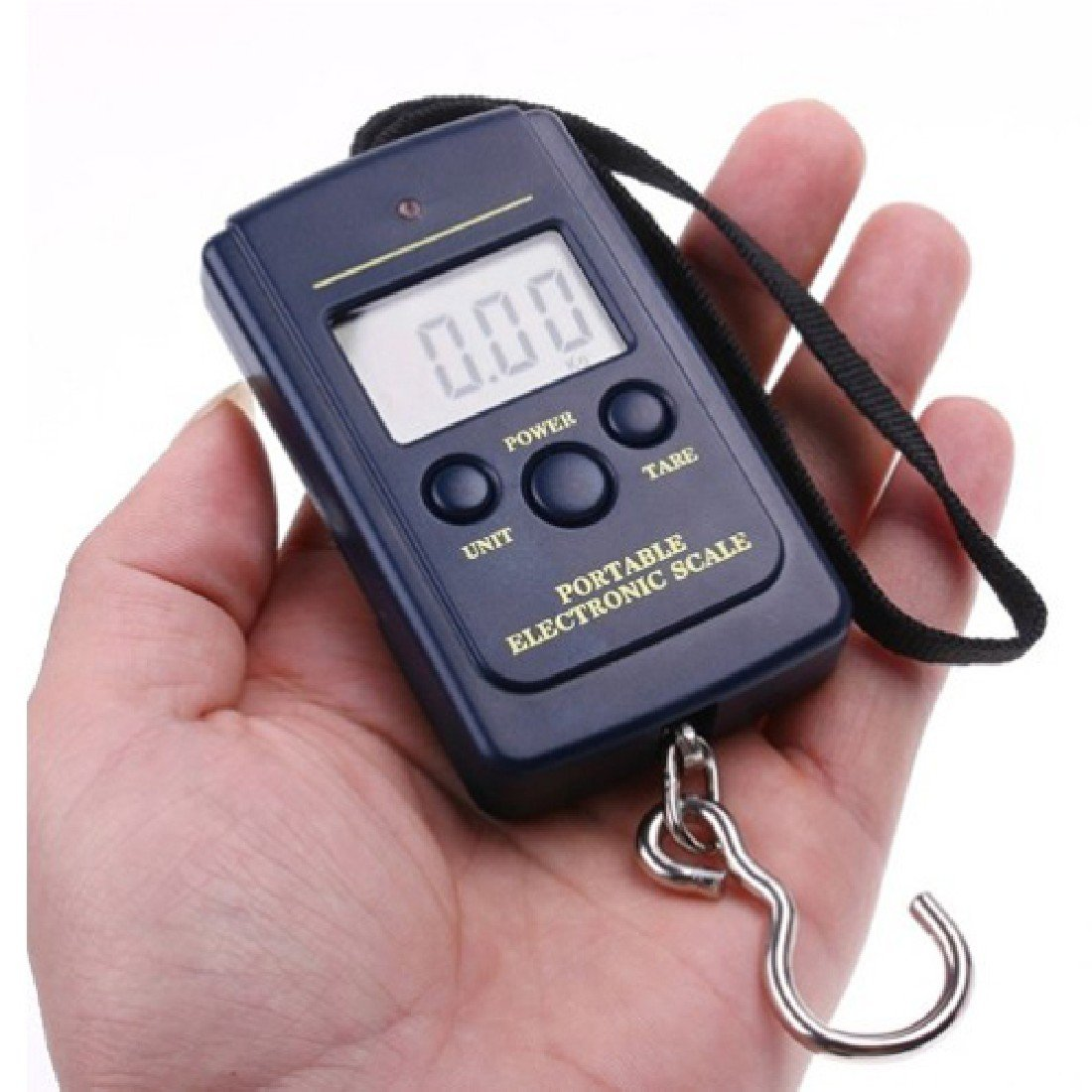 10g-40Kg Multipurpose Digital Hanging Luggage Fishing Weight Scale Electronic Pocket Mini Protable Fish Scales