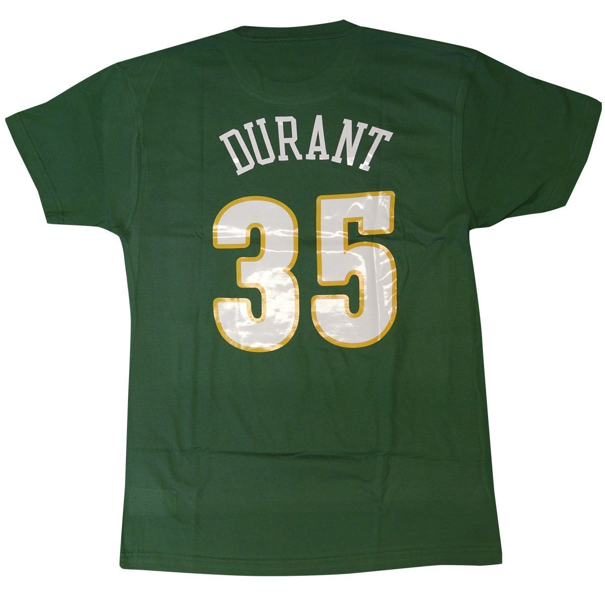 a175329ec Amazon.com   Mitchell   Ness Seattle Supersonics Kevin Durant Retro Name    Number T-Shirt (X-Large)   Clothing