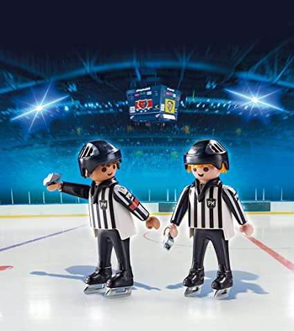 damaged packaging Playmobil 6191 Sports  Action Ice Hockey Referees