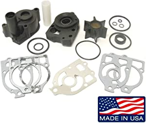 emp Mercury 75 80 90 115 140 150 Hp Inline 4 & 6 Cyl 1974-1988 Water Pump Impeller Kit replc 18-3314 46-73804A3 Please Read Product Description for Exact Application Information