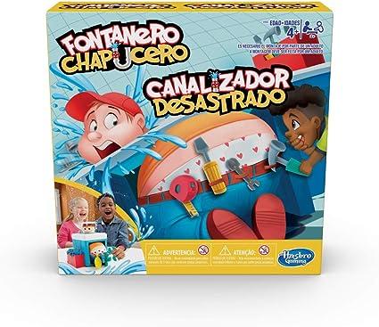 Comprar juego de mesa: Hasbro Gaming - Juego infantil Fontanero chapucero (Hasbro E6553175)
