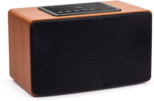 Altavoz Inalámbrico Estéreo WiFi Multiroom-August WS350 – Altavoz Bluetooth 30W con App Altavoz de Madera WiFi/Bluetooth con Cable 3,5mm Altavoz Multifuncional: Amazon.es: Electrónica