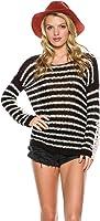 New Rip Curl Women's Stardust Pullover Pu Crochet Black