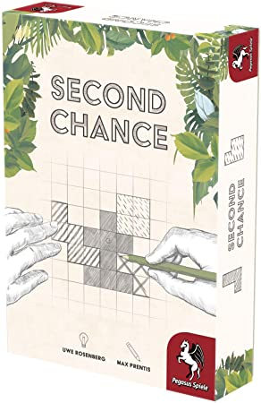 Denkspiel Pegasus 18339G 2. Edition Second Chance Malspiel