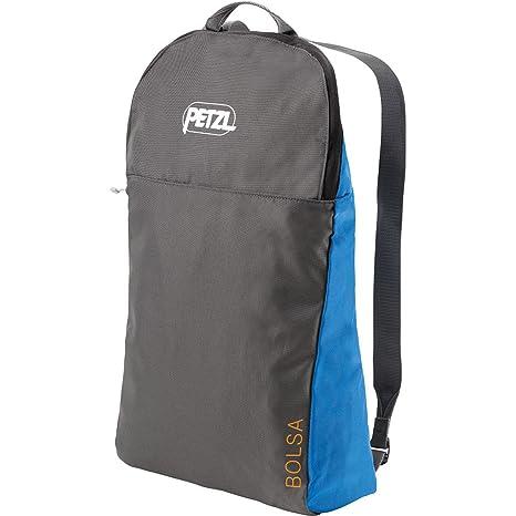 Amazon Com Petzl Bolsa Lightweight Rope Bag Blue Sports