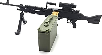 1//6 Scale DiD Corp Hot Toys selection of TOY Rifles Machine Guns! Dragon A