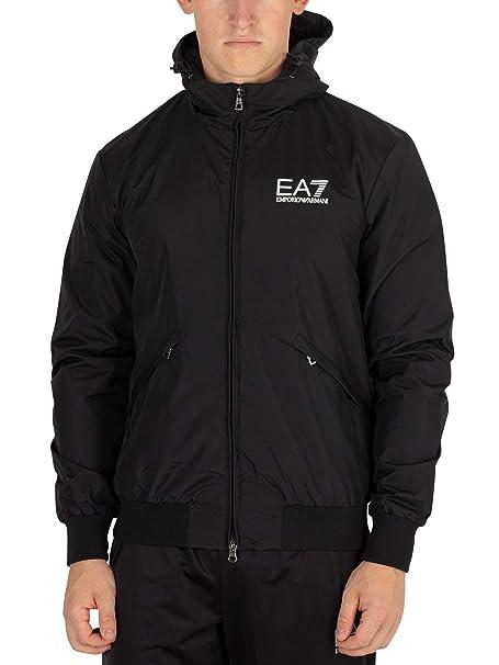 Amazon.com: EA7 Bomber - Chaqueta para hombre, color negro ...
