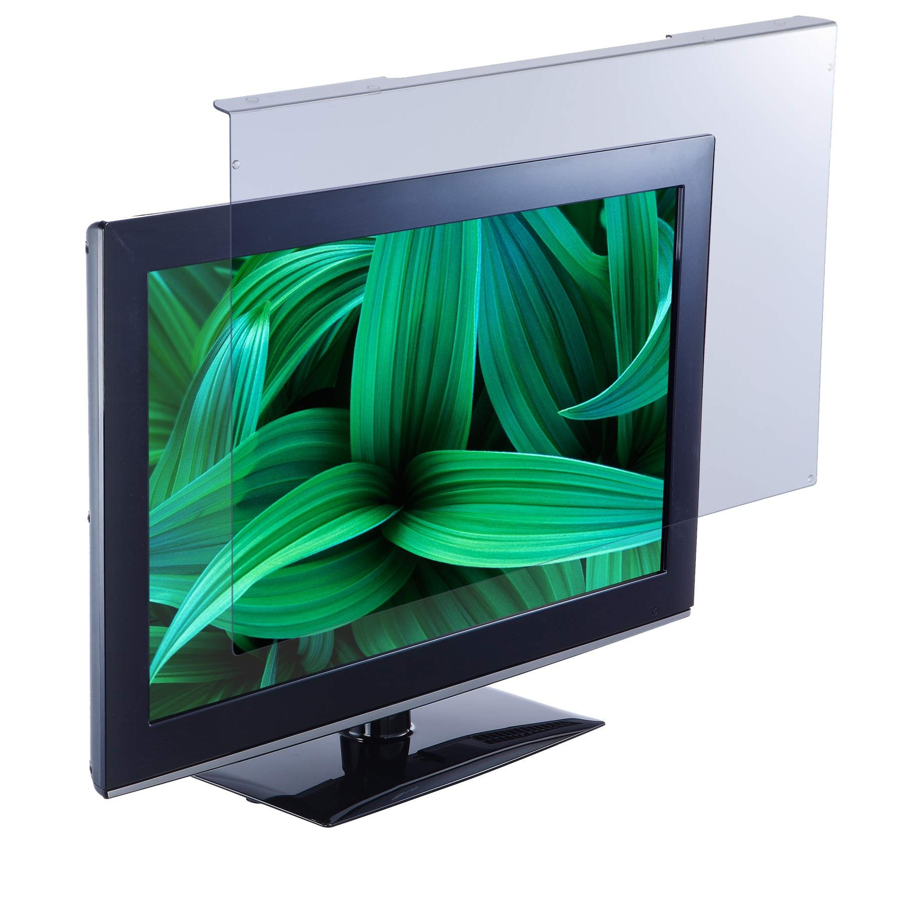 """EYES PC blue light screen protector panel for 26""""-28"""" Diag. LED PC monitor (W 24.80"""" X H 15.55""""). Blue light blocking up to 100 percent of HEV blue light from LED screens. Reduces digital eye strain!"""
