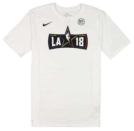 2905b92e Amazon.com: Nike Men's NBA All Star Weekend Logo T-Shirt Large White:  Sports & Outdoors