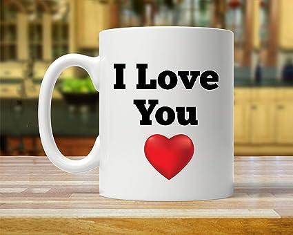 Christmas Ideas For Boyfriend.Amazon Com I Love You I Love You Mug Mug For Boyfriend