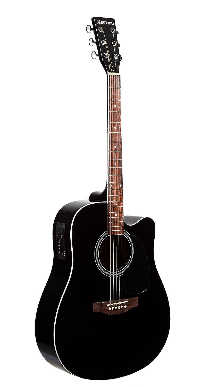 Suzuki sdg2-cebk guitarra Electro acústica: Amazon.es: Instrumentos musicales