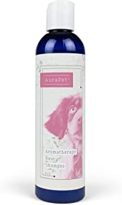 AuraPet Aromatherapy Shampoo for Dogs 8 Oz Pet Shampoo for All Dogs, Great Calming Shampoo for All Dogs and Dogs With Dry, Itchy Skin
