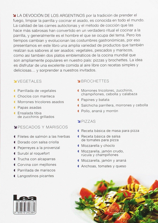 Todo a la parrilla: Pescados, mariscos, vegetales, pizzas & brochettes (Spanish Edition): Eduardo Casalins: 9789876342384: Amazon.com: Books