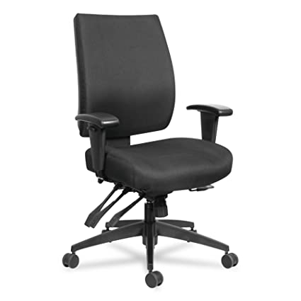 Amazon.com Alera ALEHPT4201 Wrigley 24/7 High Performance Multifunction Chair 42 7/8  h Black Kitchen u0026 Dining  sc 1 st  Amazon.com & Amazon.com: Alera ALEHPT4201 Wrigley 24/7 High Performance ...
