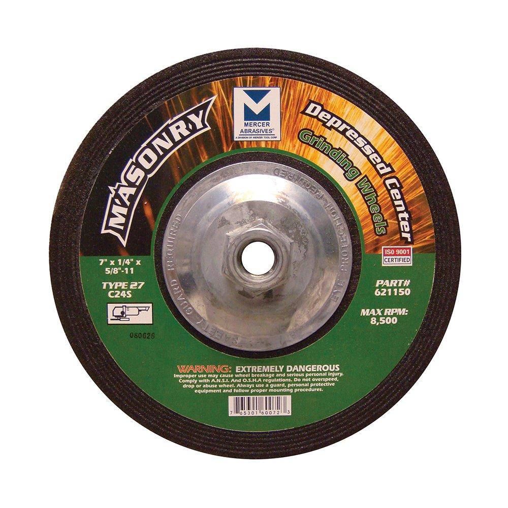 Mercer Industries Depressed Center Grinding Wheel Mercer Tool Corp. - Tools 621140