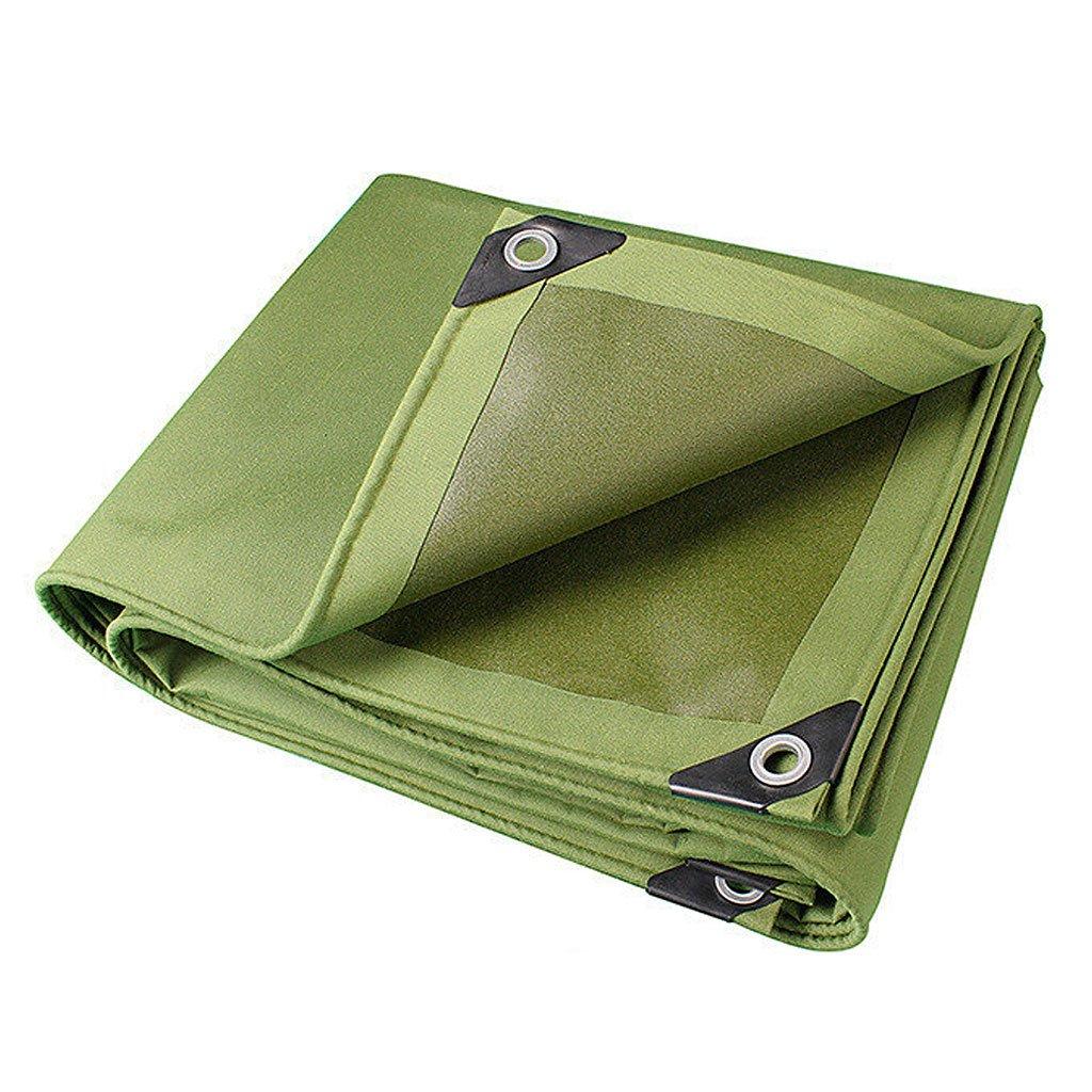 陸軍グリーン色の繊維プラス厚い雨布防水日焼け防止10種類のサイズは倉庫用に使用することができます建設工場工場と企業湾岸埠頭 防水および防湿 (サイズ さいず : 4 * 7m) B07FD2ZWLG 4*7m  4*7m