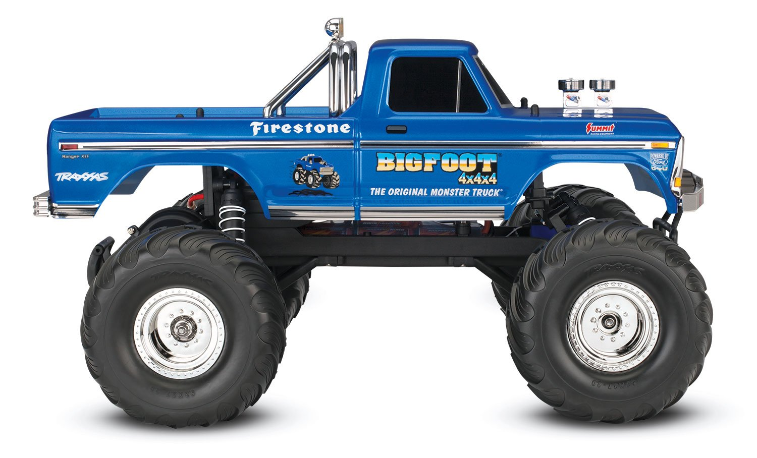 Traxxas 36034 1 Bigfoot No 2wd 10 Scale Monster Screensaver Used Slash For Sale Truck Vehicle Blue Toys Games