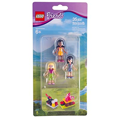 LEGO Friends Minidoll Campsite: Toys & Games