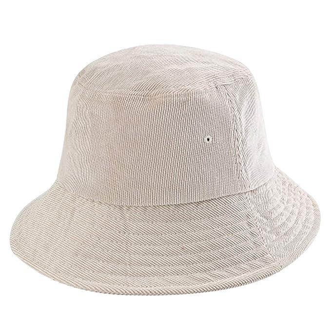 26b8c69e7 Corduroy Bucket Hat Women Wide Brim Fishing Caps Fashion Hip Hop ...