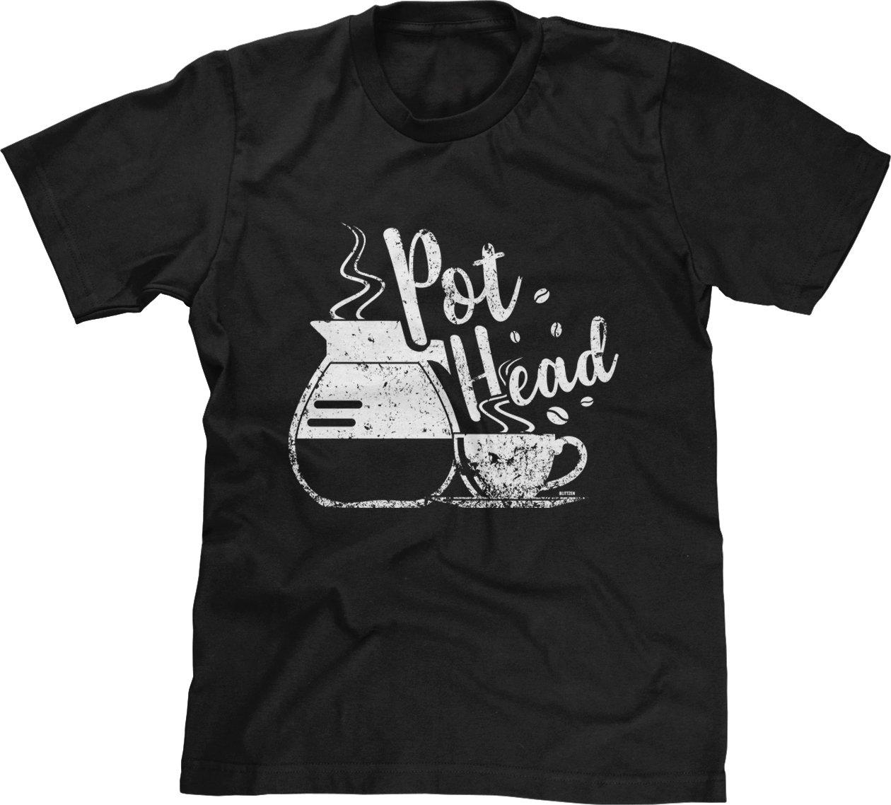 S Coffee Pot Head Shirts
