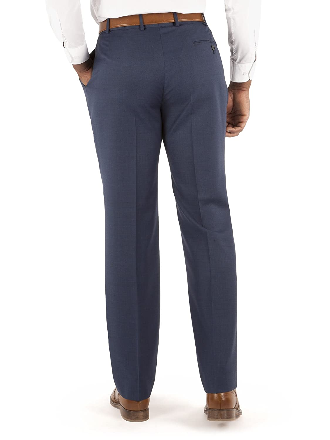 Centaur Big and Tall Mens Blue Suit Trouser in 42L to 50R
