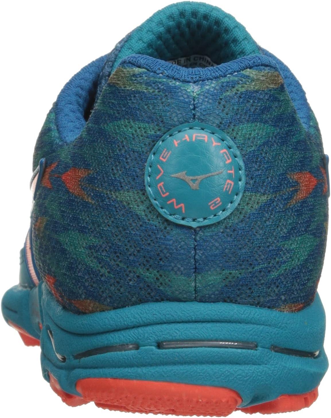 Mizuno Wave Hayate de la Mujer 2-W Running Shoe: Amazon.es: Zapatos y complementos