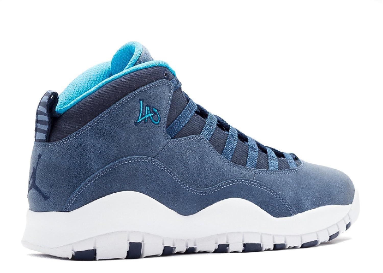 sports shoes d99cb 0bb6f Amazon.com   Air Jordan Retro 10  La  - 310805-404 - Size 11   Basketball