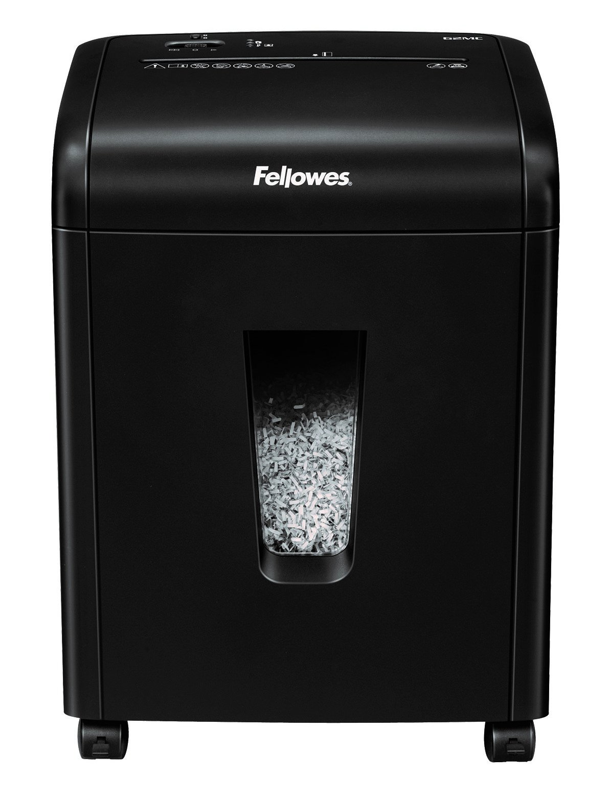 Fellowes Powershred 62MC 10-Sheet Micro-Cut Paper and Credit Card Shredder with SafetyLock (4685101)