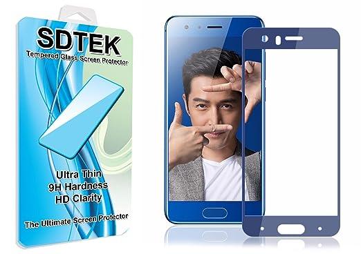 6 opinioni per SDTEK Huawei Honor 9 (Blue) Piena Copertura Vetro Temperato Pellicola Protettiva