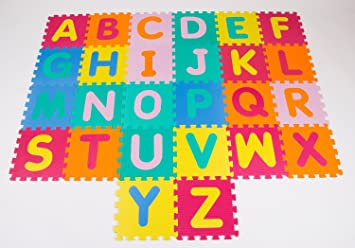 Children Play Mat   Alphabet ABC Floor Mat For Kids   (Educational, Safe,