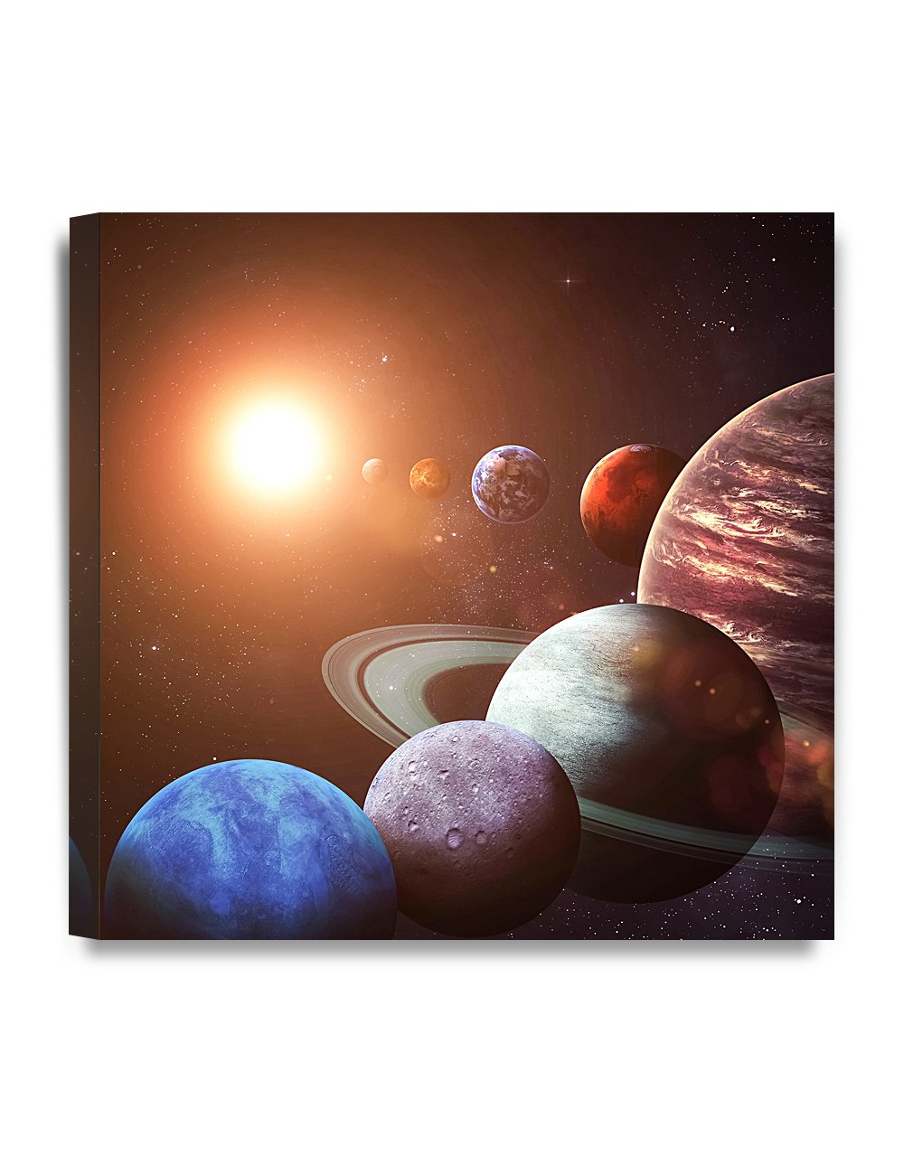 DecorArts Canvas objects Planets 24x24x1 5 Image 1