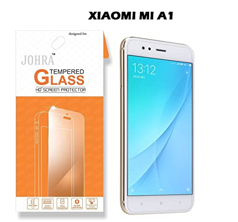 Johra® Real HD+ Tempered Glass For Xiaomi Mi A1: Amazon in