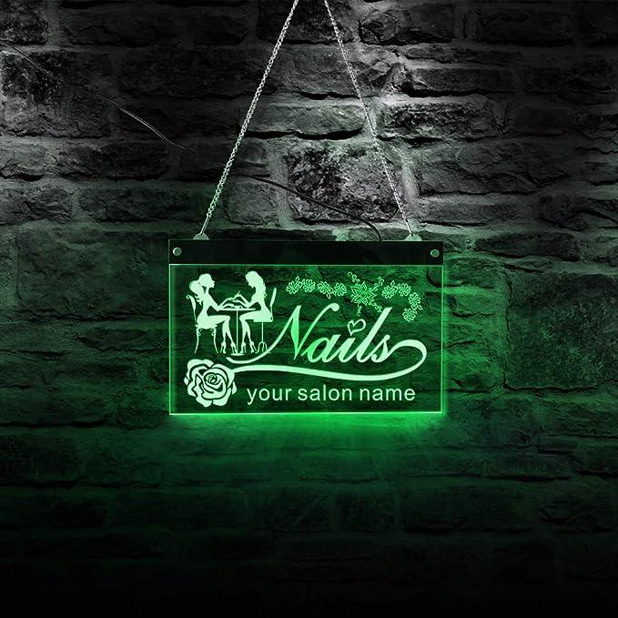 Personalizar Nombre personalizado Salón de belleza ...