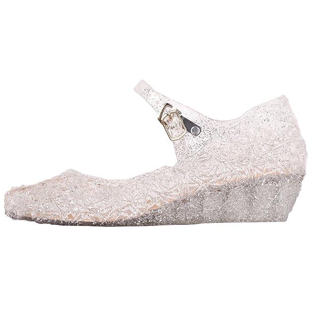 Tyidalin Ballerina Scarpe Ragazza Principessa Costume Ballet Slipper Tacco  Festive per 3 a 12 Anni Blue EU28-33  Amazon.it  Scarpe e borse 33efbf0d9e5