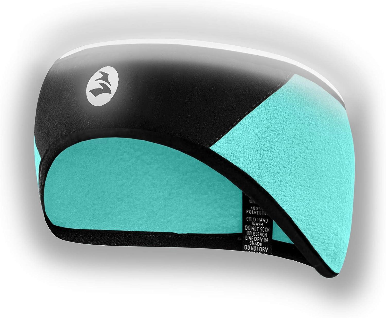 Empirelion 360º Reflective Safety Fleece Headband Windproof Lightweight Full Cover Ear Warmer/Muffs for Men Women Winter