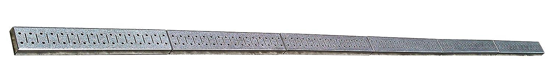 Wall Control 8-Feet Metal Pegboard Strip Garage Rail Organizer Pack