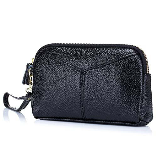 huge selection of cd786 449f0 Aladin Large Leather Wristlet Purse, Zip Cell Phone Wallet Iphone 7 Plus 6S  Galaxy S7 Note 5 for Women