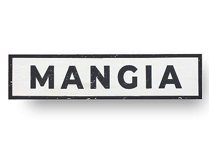 Amazon Com Mangia Sign Kitchen Sign Farmhouse Sign