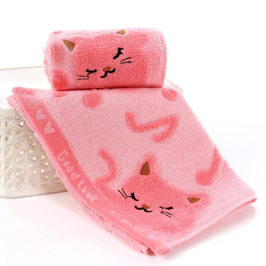 No retorcido de fibra de bambú Música Baby Cat Wash Spa Toallas toalla de baño facial: Amazon.es: Hogar
