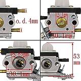 HOOAI C1U-K54A Carburetor Repower Kit for 2-Cycle