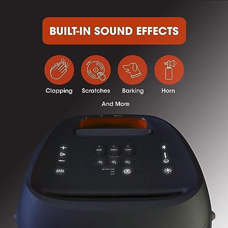 Jbl Partybox 310 In Schwarz Trag Und Rollbarer Elektronik