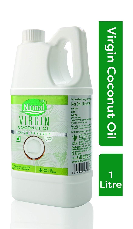 Klf Nirmal Cold Pressed Virgin Coconut Oil 1l Grocery 125 Ml Gourmet Foods