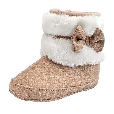 Good Night Invierno del bowknot zapatos caliente suavemente único ...