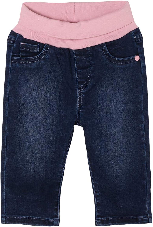 Schnizler Baby Sweat-Hose Jeans-Optik Pantalones de Deporte para Beb/és