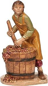 Fontanini, Nativity Figure - Dionysius, Wine Maker, for 5