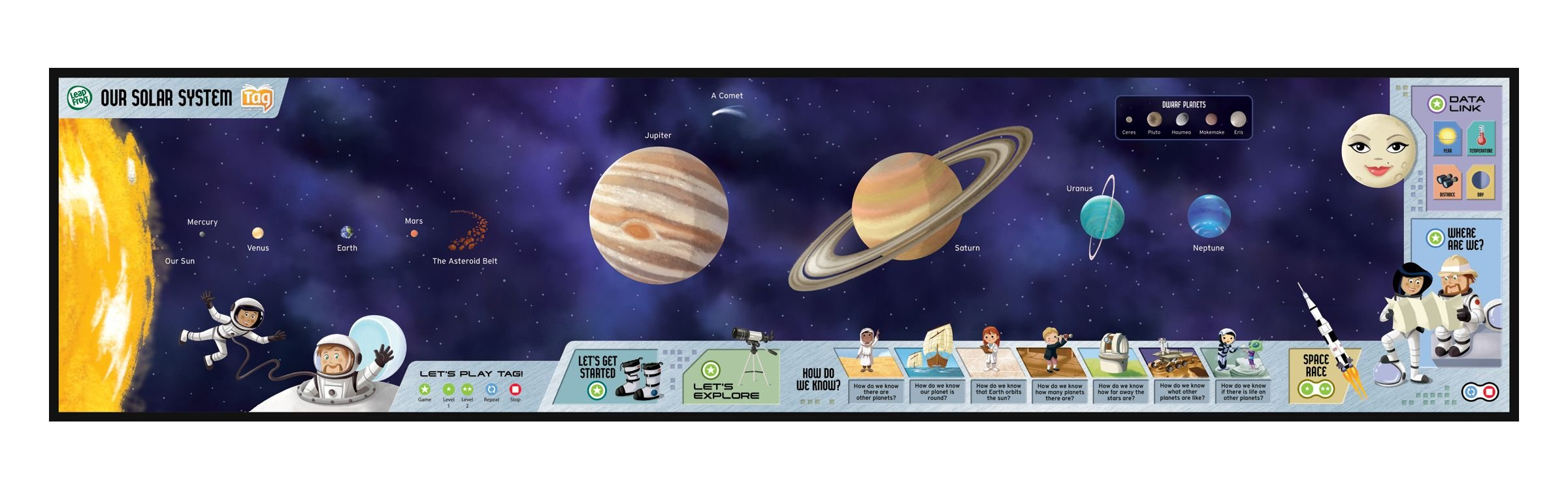 LeapFrog Tag Solar System Adventure Pack by LeapFrog (Image #3)